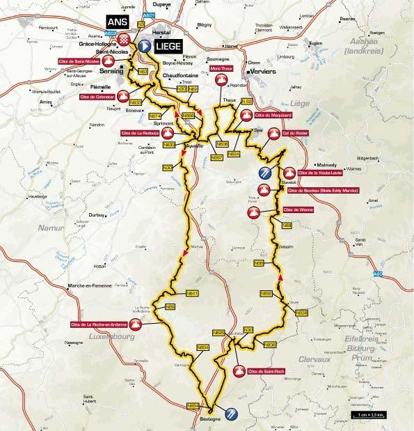Liège-Bastogne-Liège 2013 Race Info, Preview, Live Video | Non Pro on
